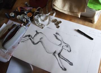 linen hare